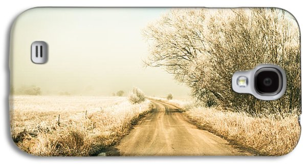 Winter Road Wonderland Galaxy S4 Case by Jorgo Photography - Wall Art Gallery