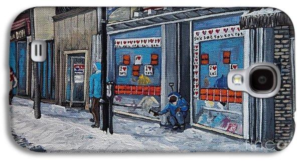 Winter Scene Verdun Galaxy S4 Case by Reb Frost