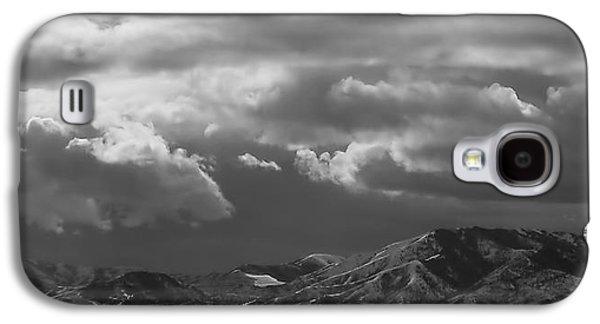 Winter Sky Galaxy S4 Case by Rona Black