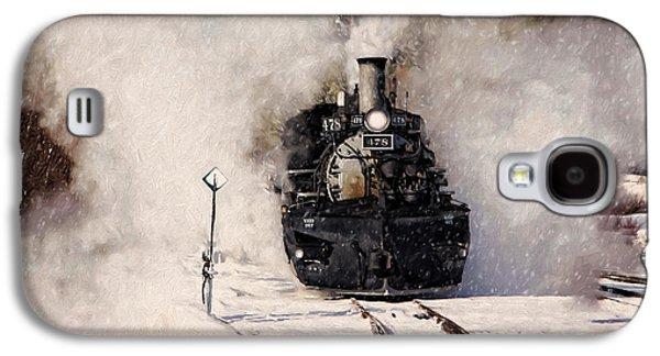Winter Steam At Rockwood Colorado Galaxy S4 Case