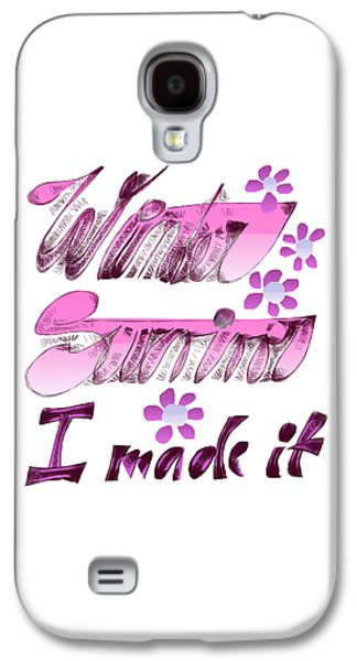 Winter Survivor Galaxy S4 Case