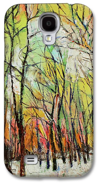 Winter Trees Galaxy S4 Case