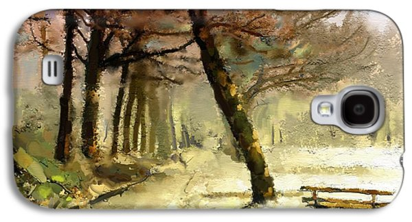 Winter Walk Galaxy S4 Case