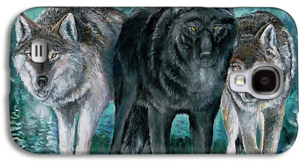 Winter Wolves Galaxy S4 Case