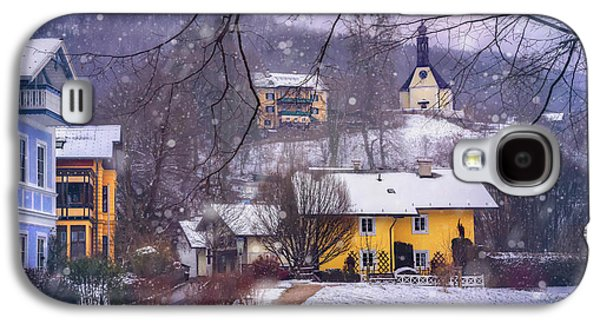 Winter Wonderland In Mondsee Austria  Galaxy S4 Case by Carol Japp