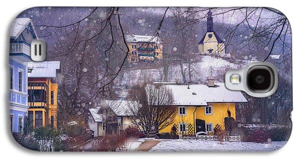 Winter Wonderland In Mondsee Austria  Galaxy S4 Case by Carol Japp