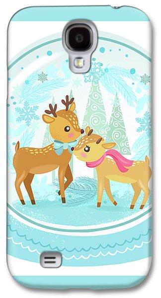 Winter Wonderland Snow Globe Galaxy S4 Case