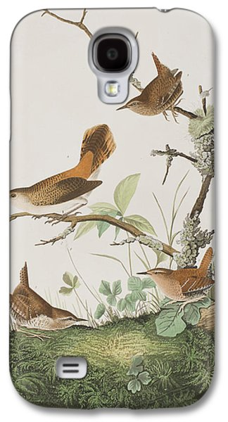 Winter Wren Or Rock Wren Galaxy S4 Case