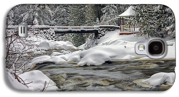 Winter's Blanket Galaxy S4 Case by Mary Amerman