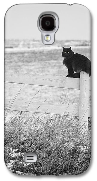 Galaxy S4 Case featuring the photograph Winter's Stalker by Rikk Flohr