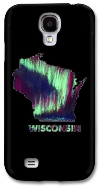 Wisconsin - Northern Lights - Aurora Hunters Galaxy S4 Case by Anastasiya Malakhova