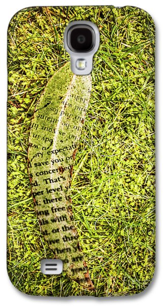 Wisdom In Nature Galaxy S4 Case by Jorgo Photography - Wall Art Gallery