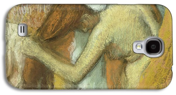 Woman At Her Toilette Galaxy S4 Case