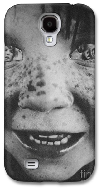Woman Child Galaxy S4 Case by Kristine Nora