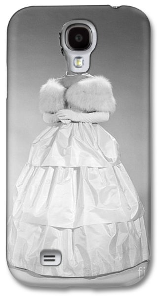 Woman In Ball Gown, C. 1960s Galaxy S4 Case