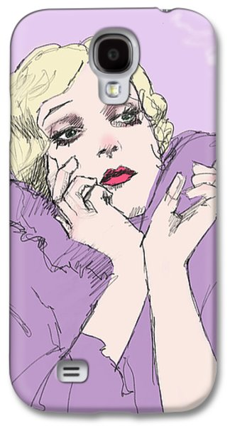 Woman In Lavender Galaxy S4 Case by H James Hoff