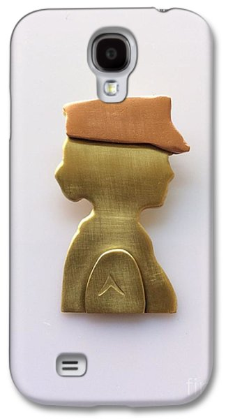Woman Veteran Pendant Galaxy S4 Case by Melany Sarafis