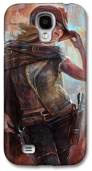 Woman With No Name Galaxy S4 Case by Steve Goad