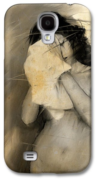 Woman With Towel Galaxy S4 Case