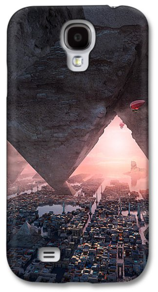 wonders great pyrimaid of Giza Galaxy S4 Case