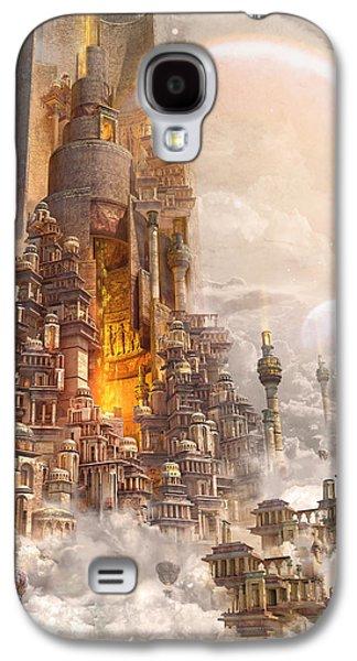 Wonders Tower Of Babylon Galaxy S4 Case by Te Hu