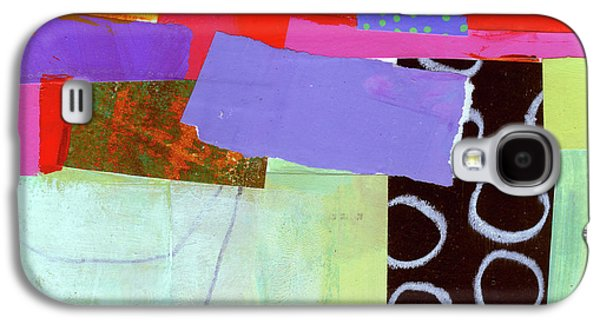 Wonky Grid #19 Galaxy S4 Case by Jane Davies