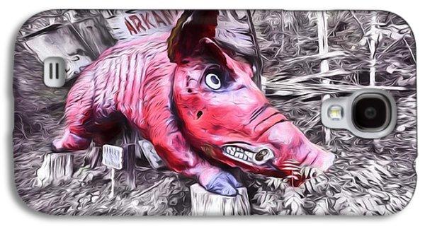 Woo Pig Sooie Digital Galaxy S4 Case by JC Findley