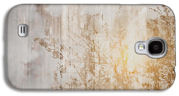 Wood Background With Branches Double Exposure Style With Instagr Galaxy S4 Case