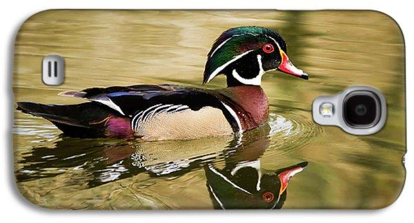 Wood Duck Cruising Galaxy S4 Case