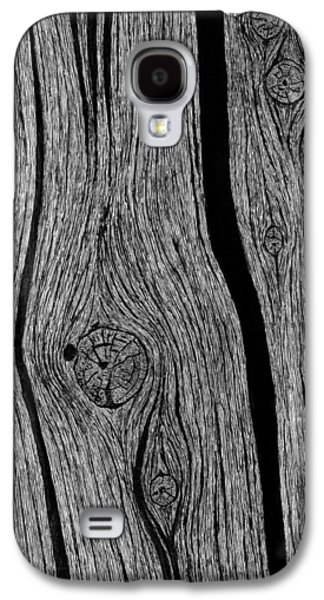 Wood Grain 1 Galaxy S4 Case by Ed Einboden