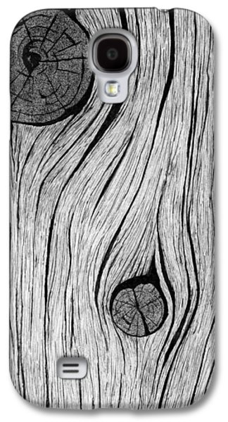 Wood Grain 2 Galaxy S4 Case by Ed Einboden