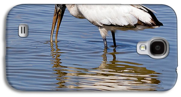 Wood Stork Galaxy S4 Case by Louise Heusinkveld