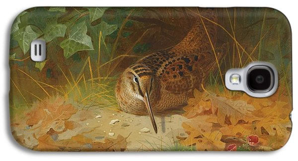 Woodcock Galaxy S4 Case by Celestial Images