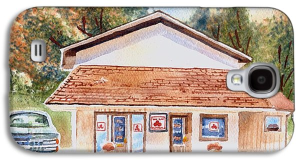 Woodcock Insurance In Watercolor  W406 Galaxy S4 Case by Kip DeVore