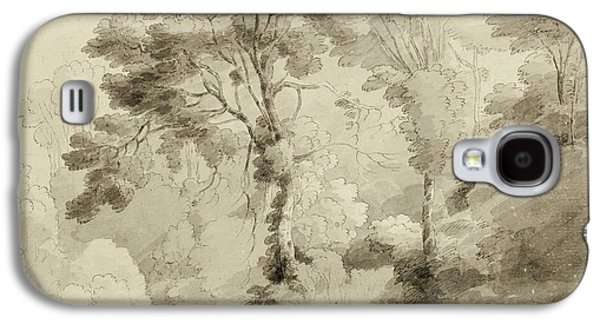 Wooded Landscape Galaxy S4 Case by Francis Towne