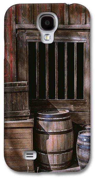 Wooden Barrels Galaxy S4 Case by Carlos Caetano