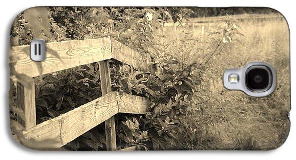 Wooden Bridge Galaxy S4 Case
