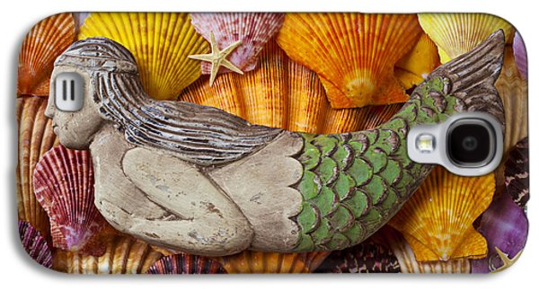 Wooden Mermaid Galaxy S4 Case