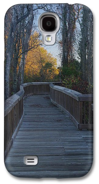 Wooden Path Galaxy S4 Case