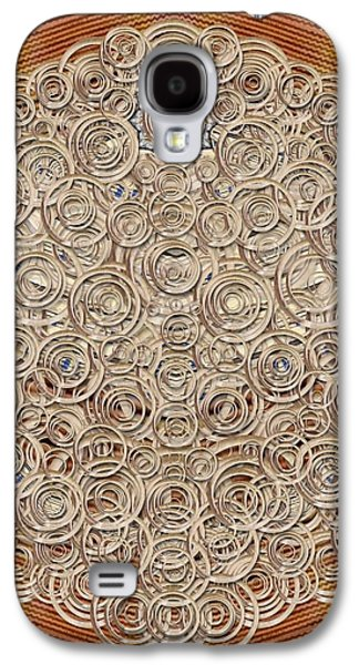 Wooden Starry Night And There Is Light Galaxy S4 Case