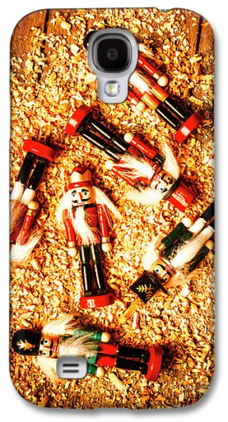 Wooden Toy Soldiers Galaxy S4 Case by Jorgo Photography - Wall Art Gallery