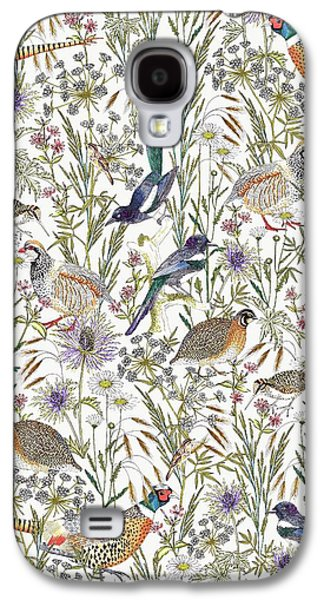 Woodland Edge Birds Galaxy S4 Case by Jacqueline Colley