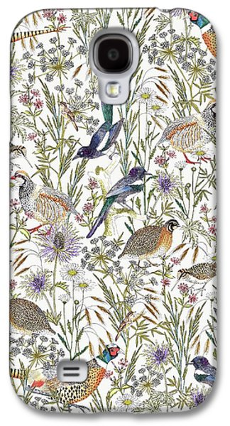 Woodland Edge Birds Galaxy S4 Case