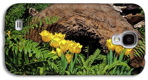 Woodland Tulip Garden Galaxy S4 Case by Tom Mc Nemar