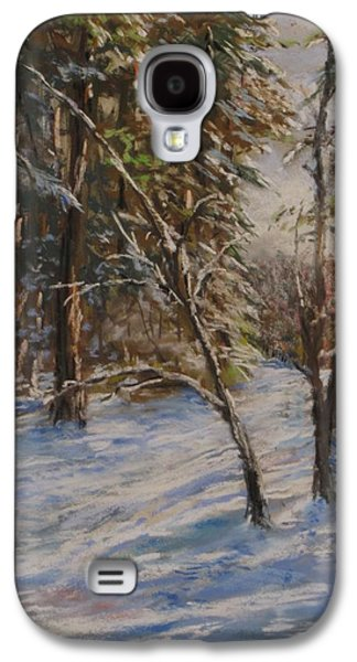 Woods And Snow At Two Below Galaxy S4 Case by Jack Skinner