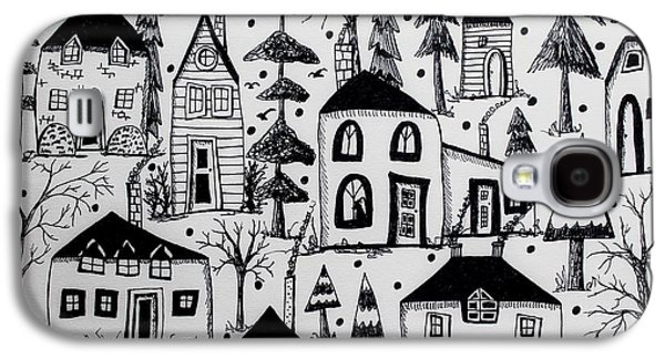 Woodsy Village Galaxy S4 Case by Karla Gerard