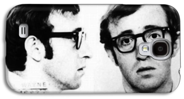Woody Allen Mug Shot For Film Character Virgil 1969 Galaxy S4 Case by Tony Rubino
