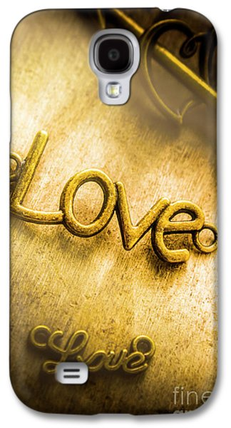 Words And Letters Of Love Galaxy S4 Case by Jorgo Photography - Wall Art Gallery