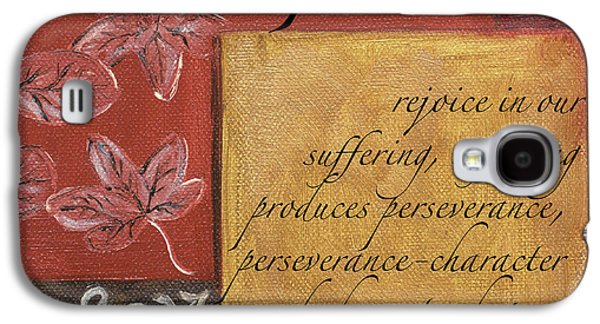 Words To Live By Hope Galaxy S4 Case by Debbie DeWitt