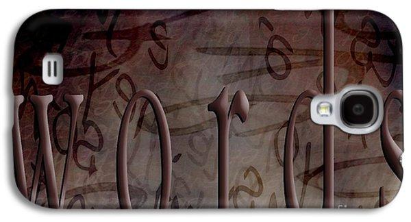 Words Galaxy S4 Case